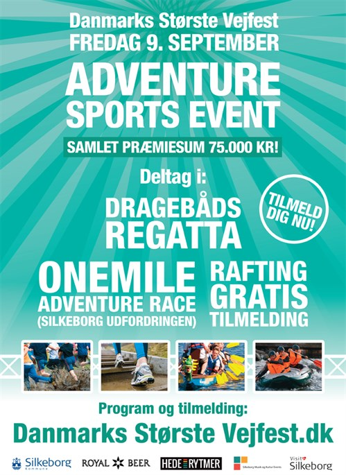 Adventure Sports Event Annonce